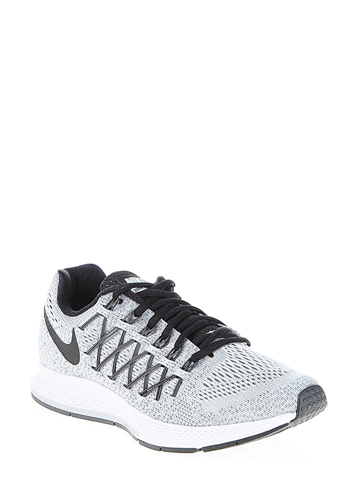 95e36fe083a86 Nike Kadın Wmns Nike Air Zoom Peg Pure Platinum Black-Dark Grey ...